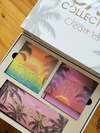 Wholesale chic wear - 2018 CALI COLLECTION by Beauty creations SUMMER STATE OF MIND Eyeshadow Set CALI CHIC CALI GLOW VS Naked Huda Beauty Tarte Makeup Kit