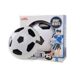 Wholesale Cushion Music - Children Puzzle Toy Levitation Football Belt Music Air Cushion Electric Stretch Ball Hover Air Cushion Football Indoor Soccer Ball