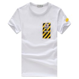 Wholesale Chinese Hood - 2018 MONCLERi Shanghai Story Chinese summer t shirt Hood By Air HBA X Been Trill Kanye West t shirt Hba tee shirt