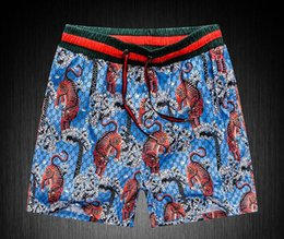 Wholesale thin collar - GOOD Board Shorts Mens Summer Beach Shorts Pants High-quality Swimwear Bermuda Male Letter Surf Life Men Swim Tiger sup Shorts g pants 8218