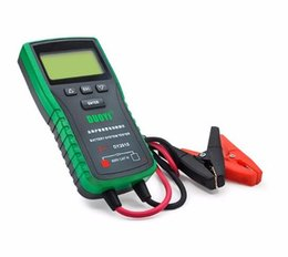 Wholesale car battery codes - Original DUOYI DY2015 Better than BST100 Car Battery Tester 12V Automotive Auto with Portable Design