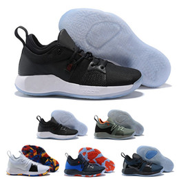 98dd1a2b5e90 New Arrival Paul George 2 PG II Basketball Shoes for Cheap top PG2 2S  Starry Blue Orange All White Black Sports Sneakers 40-46
