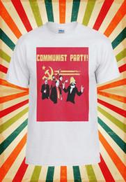 Communist Party Banksy Lenin Stalin Men Women Vest Tank Top Unisex T Shirt  686 97c9cf6fe