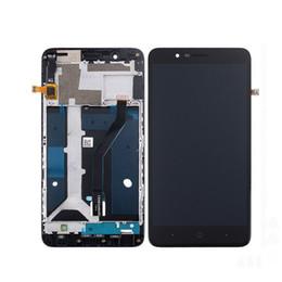 zte digitalizador de pantalla Rebajas Original pantalla LCD con pantalla táctil digitalizador con marco para ZTE Blade Z Max Z982 ZMax Pro Z981