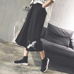 0c0d992c670a Harajuku Crane Print Wide Leg Summer Pants Women Cotton Pantalones Girls  Mujeres Plus Size Korean Femme Harem Fashion Trousers C18110901