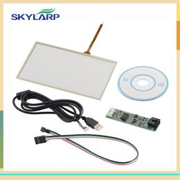 Wholesale Pi Touch Screen - Wholesale- skylarpu 7 inch 165mm*100mm Touch screen Panel USB driver card Kit for AT070TN90 for Raspberry Pi