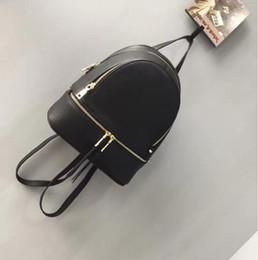Wholesale school boy bags - Famous designer backpacks 2017 fashion Luxury brand women blackpack lady school bag rucksack bag charms free shipping