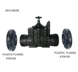 2020 solenóide plástico de água Sistema de irrigação BSP 4 polegadas Eletromagnética válvula solenóide de água para Sistemas de Irrigação 100mm AC24V solenóide plástico de água barato