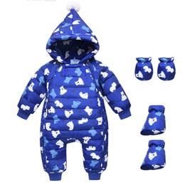 cappotto di neve del neonato Sconti Tuta invernale russa tuta da bambino snowsuit 90% piumino d'anatra per cappotti da donna Park for baby boy clothes snow wear coat