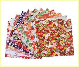 envoltório de plástico termoretráctil Desconto Frete grátis DIY papel Washi papel Japonês para origami artesanato scrapbooking - 14x14 cm 200 pçs / lote LA0068 atacado
