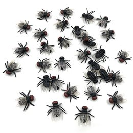 Novelty & Gag Toys Gags & Practical Jokes 50 Pcs Black Spider Halloween Surprising Gadget Plastic Realistic Joking Slime Novelty Toys For Kids Or Decoration In Stock 2019 Official