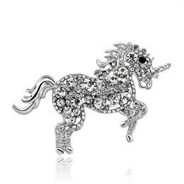 Canada Broche unique élégante broche cheval licol en cristal strass Offre