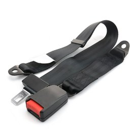 Kit de boucle de ceinture ventrale pour ceinture de sécurité velcro universel pour voiture, 2 points ? partir de fabricateur