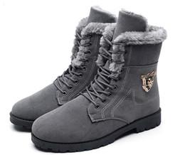 ffff8c7c Alto para ayudar a las botas de nieve para hombre invierno cálido y  terciopelo alto para ayudar a Martin botas personalizadas Guipou zapatos de  algodón de ...