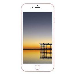Wholesale Gsm Tv - Goophone i7 Quad Core MTK6580 512MB RAM 8GB ROM Android 6.0 4.7 inch 960*540 qHD Nano Sim Card 2G GSM Quad Band Unlocked Smartphone DHL Free