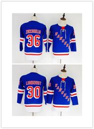 2018 Winter Classic New York Rangers Jerseys Hockey 30 Henrik Lundqvist 36  Mats Zuccarello youth jersey 0ac1e297f