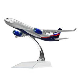 Regali russi online-I modelli di aeroplano russi Aeroflot-Russian Airlines Airbus A330 modelli di aerei regalo di compleanno per bambini