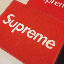 tapis de mousse Promotion Tapis de SUP pour les tapis rouges de mode d'hôtel à la maison pour le tapis antidérapant de salle de bains de tapis de planche à roulettes de Hip-Hop de porte 60 * 80CM