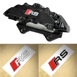 2019 camuflagem 6 PCS Sline RS Pinça de Freio Adesivo S linha Espelho Retrovisor Interior Console adesivo Decalque para Audi A3 A6 A5 A3 A3 Q3 Q5 Q7 TTRS