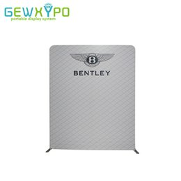 Wholesale Fast Screen Printing - 8ft*10ft Fast Show Display Advertising Straight Easy Fabric Backdrop Stand With Banner Printing,Portable Trade Show Events Wall