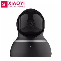 "Wholesale Dome Camera Audio - [International Edition] Yi 1080P Dome Camera XIAOMI YI Dome IP Camera Pan-Tilt Control 112"" Wide Angle 360"" Degree View 2 Audio"