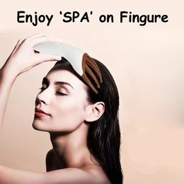 Wholesale Vibrating Head Massager - Finger massage claw electric head massager battery or mini USB power relieve fatigue vibrate massage home SPA