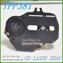 Wholesale Optical Laser Head - walkman CD Optical Pickup For Thomson TPP-381 For MC230 CD Laser Head TPP381 Mechanism TPP 381 laser head