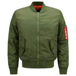 58d8796f3ca4 Wholesale 2018 Fashion Rib Bottom Pendulum Design Mens Designer Jackets  Pocket Decoration Face Jackets Men Leisure MA1 Pilot Jackets discount men  jacket ...