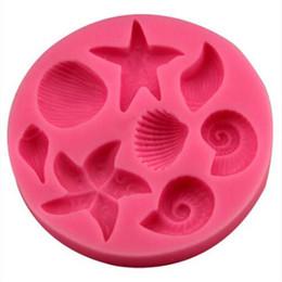 Vendite CALDE !!! Stampi a forma di conchiglia di conchiglie di conchiglie di conchiglie di pesce stella marina cheap snail decorations da decorazioni lumaca fornitori