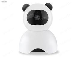 Wholesale Mini Audio Surveillance - High Quality CCTV Surveillance Security Mini Cameras Panda WIFI HD Camera Audio Record Surveillance Wireless Baby Monitor