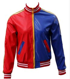 Wholesale Xxs Leather - Super Heroes Cosplay Costume Movie Cosplay Coat Halloween New Year Leather