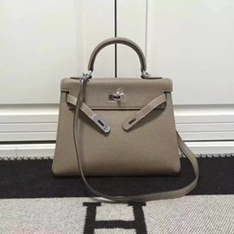 Wholesale Good Quality Designer Bags - Designer women handbags All Cow Leather Bags Durable Top End Quality 32cm width Good Package factory prices Free shipping