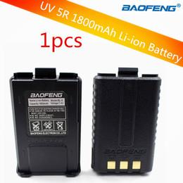 2019 auriculares pola motorola Batería original Baofeng uv5r para radio Walkie Talkie Baofeng UV-5R UV-5RE 5RA Batería UV 5R 1800mAh Li-ion