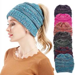 afaa59040e89 Women Winter New Fashion Caps Hats Unisex Folds Casual Oversized Beanies Hat  Hip Hop Skull Beanie