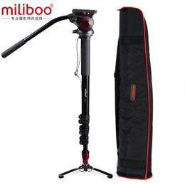 Camcorder preise online-Großhandel MTT705B Portable Carbon Fibre Stativ Einbeinstativ für ProfessionalCamera Camcorder / Video / DSLR stehen, halber Preis von Manfrotto