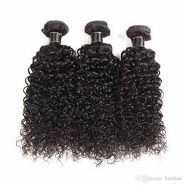 lula capelli umani Sconti 100% capelli brasiliani brasiliani di Remy dei capelli di Remy Weavs 2/3 PCS Lot Capelli umani vergini peruviani indiani della tessitura dei capelli di Remy dei capelli umani