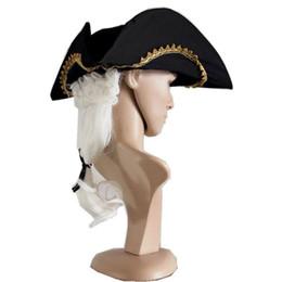 Мужские парики косплей онлайн-Новый дизайн косплей мужской суд судья белый парик Хэллоуин партии парик с Европейский суд шляпа партии подарки