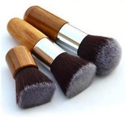 2019 11 stück bambus pinsel Professionelle Bambus Make-up Pinsel Sets 11 Stücke Kosmetik Make-Up Maquiagem Concealer Kosmetik Pinsel Kits mit Kordelzug Tasche günstig 11 stück bambus pinsel