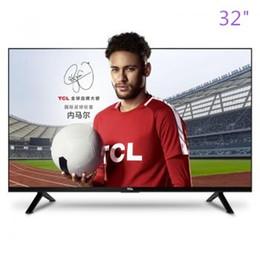 2019 taux tvs TCL 32 pouces support de la lunette étroite lecture vidéo USB décodage Blu-ray LED chambre à coucher LCD TV premier produit populaire!