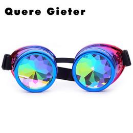 Rave party zubehör online-Mens Gothic Steampunk Sonnenbrille Männer Brille Rave Festival Brille Steam Punk Brillen für Mann Party bunte Zubehör männlich