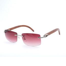 óculos de sol de moldura branca homem Desconto Pedra De Madeira do vintage  Óculos De Sol 4b2ad7e543