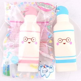 Wholesale Squishy Original - Cartoon 16CM Jumbo Kawaii Squishy Cute Adorable Toothpaste Slow Rising Phone Strap Pendant Kid Toys Original Upscale Squeeze Bread