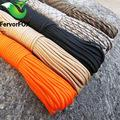 Wholesale M Lanyard - 100 M (328 Ft )Paracord 550 Paracord Parachute Cord Lanyard Rope Mil Spec Type Iii 7 Strand Climbing Camping Survival Equipment