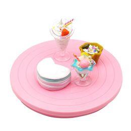 Wholesale Cake Platform - 5.5 Inch Rotating Cake Turntable Revolving Cake Decorating Stand Platform Cake Decorating Tool