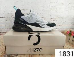 2019 chaussures sur mesure taille 14 2019 haute qualité 27C chaussures baskets chaussures de course hommes 270 noir triple sport bottes bottes femmes chaussures de sport chaussures de sport homme EUR36-45