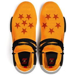 Wholesale Dragon Pvc - 2018 Pharrell Williams Human RACE HU NMD Trail Dragon Ball Z Mens Designer Sports Running Shoes for Men Sneakers Women Casual Trainers