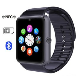 Wholesale Oxygen Black - GT08 Smart Watch DZ09 Wristband Bluetooth Bracelet With Pedometer Camera Monitoring Sleep Sedentary Reminder Compatible Platform Android