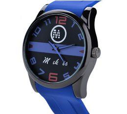 Wholesale Promote Sports - New fashion sports watch quartz men's quartz watch men's table silica gel manufacturers promote high quality.