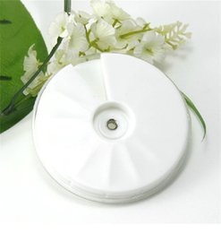 Wholesale Empty Round Case - Nail Art Storage Box Empty Plastic Wheel Rotated Case For Jewelry Accessory Round Boxes 12 Grids Tool High Quality 0 8hn X Z