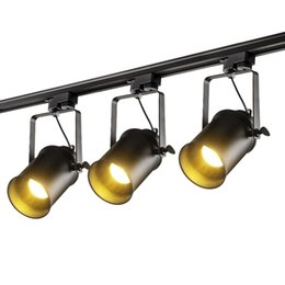 Wholesale Exhibition Lighting - Modern track lights LED Ceiling Rail lamp for Clothing Shop Windows Showrooms Exhibition Spotlight Home Lighting Light Fixtures